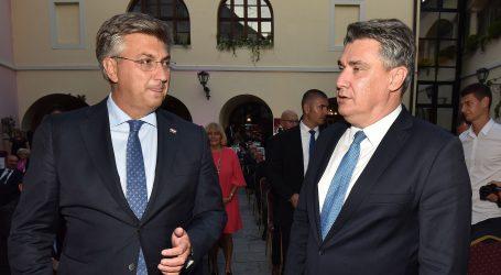 Milanović i Plenković uspjeli se dogovoriti o terminu sjednice VNS-a