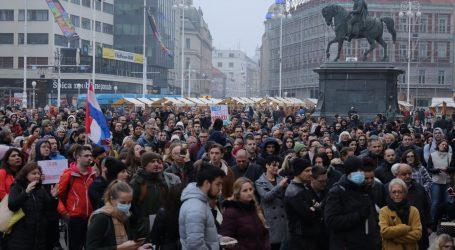 Policija podnijela optužni prijedlog protiv organizatora nedjeljnog prosvjeda protiv mjera