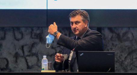 """Plenković: """"Ako želimo izbjeći novo pooštravanje mjera važna je osobna odgovornost"""""""