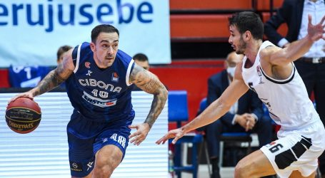 ABA loga: Cibona izgubila od Partizana