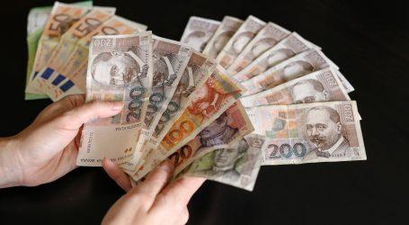 HNB: Kuna neznatno oslabila prema euru