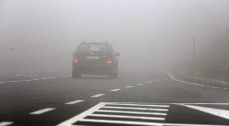 HAK: Mjestimice vrlo gusta magla