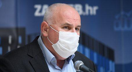 """Jelač: """"U Zagrebu gotovo svaka treća osoba pozitivna"""""""