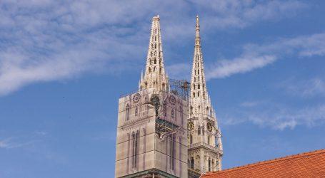 Počelo postavljanje skela oko zagrebačke katedrale