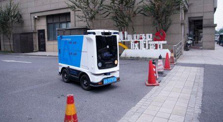 Kineski autonomni robot sakuplja i sortira otpad