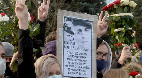 Lukašenkov režim ubio 31-godišnjaka, represija sve strašnija