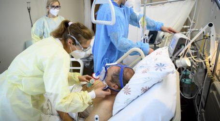 Dvostruko veća smrtnost hospitaliziranih zbog Covida nego zbog gripe