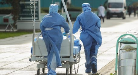 U 19 dana studenoga udvostručen broj hospitaliziranih