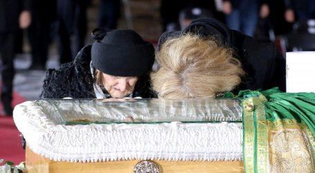 Pokopan patrijarh SPC Irinej