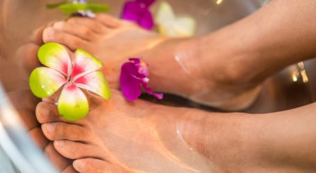 Prirodna kupka za zdrava, svježa i mirisna stopala
