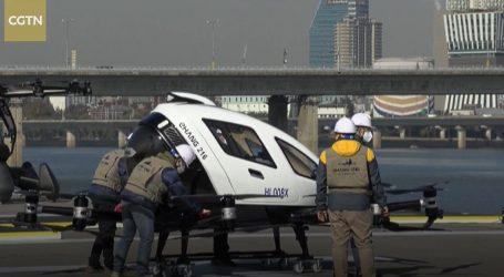 Prijevoz budućnosti: Taxi-dron letio iznad velegrada Seula