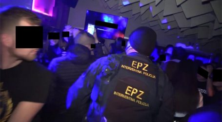 Zagrebačka policija objavila snimku racije u kafićima, zabavljala se i osoba pozitivna na koronu