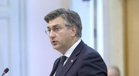 """Plenković: """"Smanjivanje neizvjesnosti i jačanje sigurnosti glavne su nam zadaće"""""""
