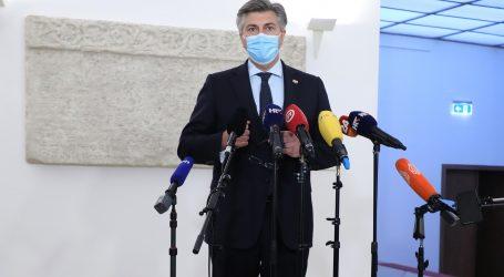 """Plenković: """"Covid kriza sve mijenja iz korijena, nismo ni svjesni posljedica"""""""