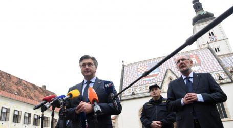 Plenković razgovara sa Stožerom, očekuje se premijerova izjava