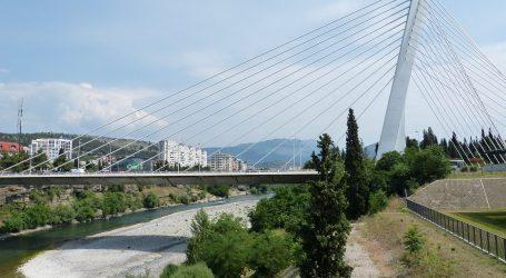 Novi rekord u Crnoj Gori, Podgorica od petka u ponoć 'zaključana'