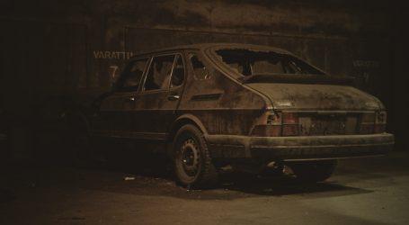 Prljavi automobil ponekad može postati umjetničko platno