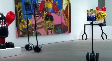 Roboti vode ljude u virtualno razgledavanje londonske galerije