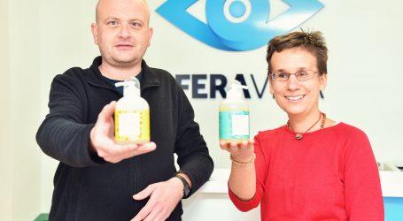 Slijepe i slabovidne osobe pokrenule proizvodnju tekućih prirodnih sapuna