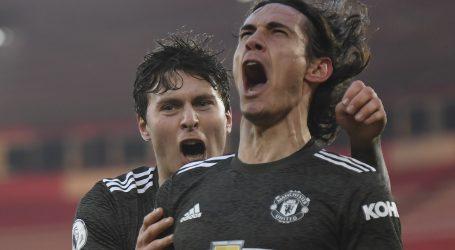 Cavani donio pobjedu Manchester Unitedu nakon što su gubili 0-2