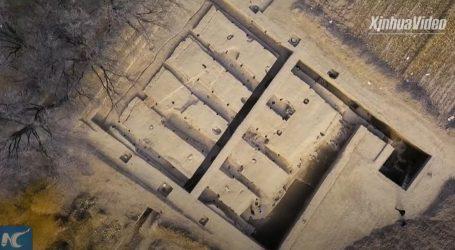 Unutarnja Mongolija: Otkrivena velika štala stara oko dvije tisuće godina