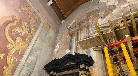 Potres oštetio crkvu u Remetama