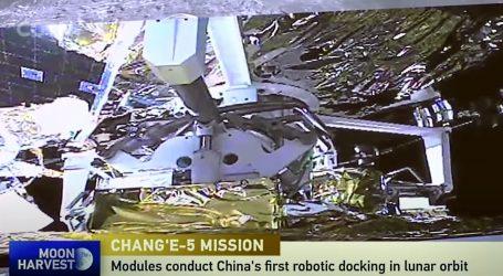 Kineska sonda u Mjesečevoj orbiti čeka na povratak na Zemlju