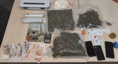 U Opatiji oduzeto pet kilograma marihuane i pola kilograma amfetamina