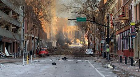 Eksplozija u centru Nashvillea 'progutala' ulicu: Policija vjeruje da je riječ o namjernom napadu