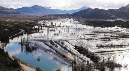 Razina vode u Kokorićima kod Vrgorca počela opadati