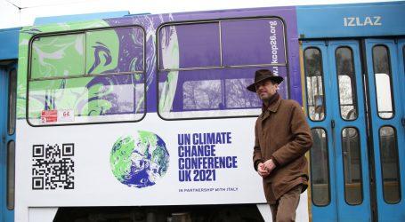 "Britanski veleposlanik ""pustio u promet"" klimatski tramvaj broj 13"