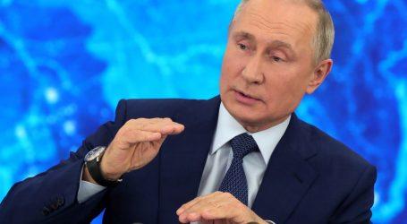 Godišnja konferencija: Putin se nada da će poboljšati odnose sa SAD-om, kaže da Navaljni 'nije dovoljno važna meta'