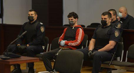 Uz strože mjere nastavljeno suđenje Zavadlavu, na sud ga doveli u pancirki