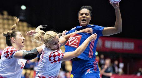 Rukometašice na EURU: Hrvatska nemoćna protiv Francuske, u nedjelju za broncu protiv Dankinja