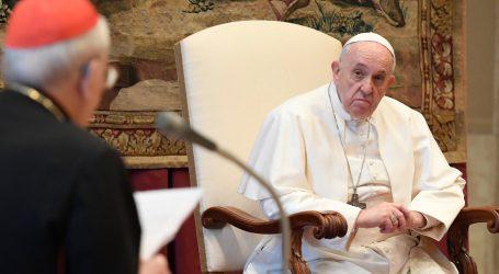 """Papa: """"Dok traje pandemija 'nitko neće ostati bez posla' u Vatikanu"""""""