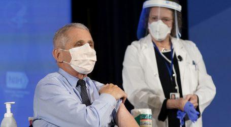 Prvu dozu cjepiva protiv koronavirusa primilo već više od milijun Amerikanaca