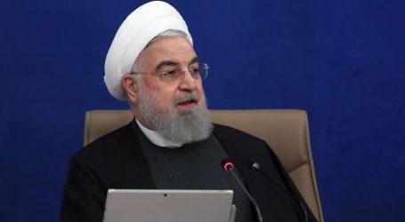 """Rohani: """"SAD traži da transfer iranskog novca za cjepivo ide preko američkih banaka """""""