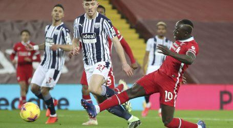 Premierliga: Liverpoolu samo bod protiv WBA na Anfieldu