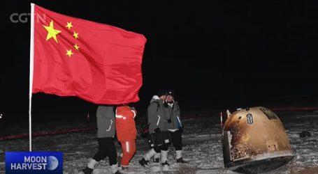 Modul svemirske misije Chang'e-5 prizemljio, pronađen u roku od pola sata