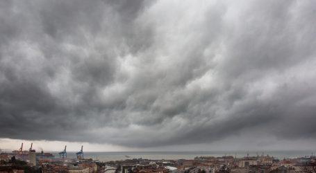 DHMZ: Očekuje nas pretežito oblačno i tmurno vrijeme