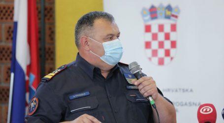 """Vatrogasci iz 17 županija pomažu Sisku i Petrinji: Tucaković: """"Vatrogasci, hvala vam na svemu"""""""