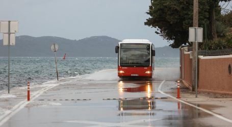 DHMZ: Kišno i vjetrovito