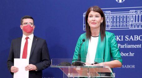Zastupnici SDP-a Sabina Glasovac i Domagoj Hajduković pozitivni na koronavirus