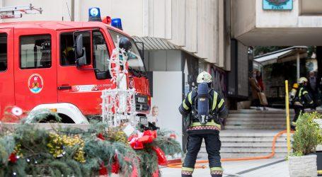 Požar u sušari za preradu soje u zagrebačkoj Dubravi, nema ozlijeđenih