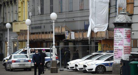 Oštećena zgrada na Trgu bana Jelačića, Kraš zatvorio trgovinu