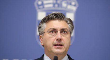"""Premijer Plenković: """"Osigurali smo 120 milijuna kuna pomoći, novac će već sutra biti uplaćen županijama"""""""