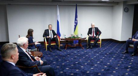 Čović uvjeravao Lavrova u nužnost izmjena izbornog zakona u BiH