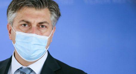 """Plenković: """"Dolazak cjepiva ohrabrujuća je poruka i daje nadu u normalizaciju života tijekom 2021."""""""