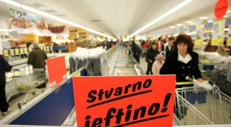 Hrvatska uz bok Danskoj s najvećim rastom prometa u maloprodaji u listopadu