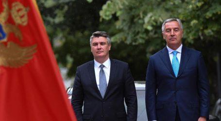 Đukanović pisao Milanoviću: Crna Gora stoji uz hrvatske prijatelje i saveznike